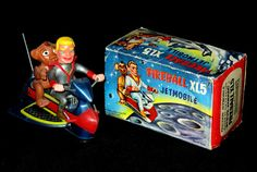 Fireball XL-5 - Steve Zodiac and Zoony on Jet Bike
