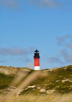 Sylt Island, Hörnum Lighthouse