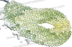 Multi Prehnite Faceted Coin Quality A / Pack by GemstoneWholesaler