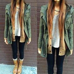 Casual Winter Fashion With Long Jacket
