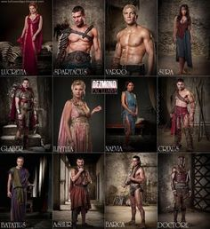 Spartacus! I prefer the original cast....RIP Andy
