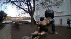 Naked babies in Prague #streetart #kampa #prague