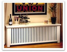 High quality radiator cabinets, wooden radiator covers, wooden baseboard heater covers, PTAC covers, wooden bookcases Ð we offer excellent quality and value. Baseboard Heater Covers, Baseboard Heaters, Home Radiators, Shaker Style Cabinets, Radiator Cover, Wood Plans, Decoration Design, Home Trends, Apartment Design