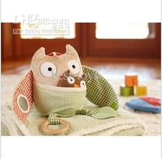 Lamaze Plush Toys Owl stuffed toy baby toys educational toys 20pcs lot