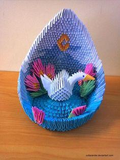 Swan Lake - 3D Origami