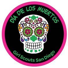 GSSD Dia De Los Muertos Patch