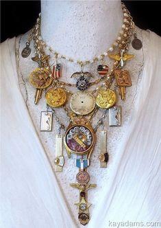 Gray Earrings Sterling Silver Jewelry, Womens Gift Boho Earrings Dangle Clip On Earrings, Minimalist Earrings, Handmade Jewelry Gift for Her - Custom Jewelry Ideas Vintage Jewelry Crafts, Recycled Jewelry, Old Jewelry, Jewelry Art, Handmade Jewelry, Fashion Jewelry, Jewelry Design, Jewellery, Found Object Jewelry