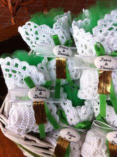 centrini bomboniere promesse di matrimonio borseefilati crochet ganchillo uncinetto confetti wedding