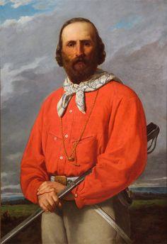 Ritratto di Giuseppe Garibaldi  Silvestro Lega - 1861