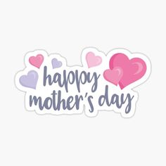 Happy Mothers Day Banner, Mothers Day Shirts, Homemade Stickers, Make Your Own Stickers, Sticker Shop, Sticker Design, Grandma Gifts, Gifts For Mom, Mother's Day Banner