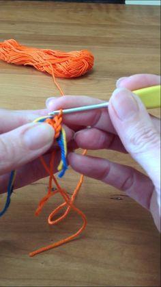 Tapestry Mochila-táska --  kezdő lépések----Mochila, the beginning / het begin