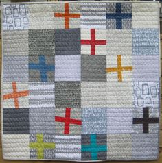 Cross made by Overton Textiles - September 2014