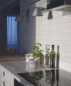 sunny day - white kitchen