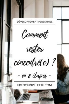 Comment rester concentré(e) en 8 étapes ? Planner Organisation, School Organization, College Life Hacks, Business Studies, Burn Out, School Study Tips, Back 2 School, Study Hard, Study Motivation