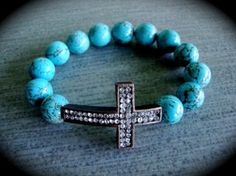 Cross bracelet by karin