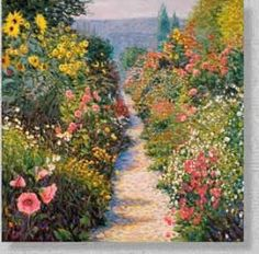Down the Flowered Walk (25 pieces)