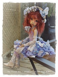 Beautiful doll by Kaye Wiggs