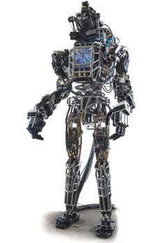 DARPA unveils Terminator-like Atlas robot. Watch this video :http://cnet.co/15kSFMn