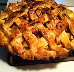 How to Bake a Lard Crusted Apple Pie Recipe Apple Pie Recipes, Whole Wheat Flour, Bread, Baking, Desserts, Foods, Tailgate Desserts, Food Food, Deserts
