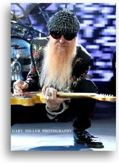 Billy Gibbons Legendary Guitarist and Singer of ZZ Top at GBK for the American Music Awards