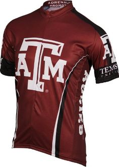 NCAA Texas AM Cycling JerseyXXLarge -- You can find out more details at the link of the image.