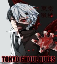 I made this for all of you Tokyo Ghoul Lovers.  :)