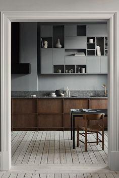 98 Wonderful Modern Kitchen Style 96 ~ Top Home Design Interior Exterior, Kitchen Interior, Kitchen Decor, Design Interior, Nordic Kitchen, Timeless Kitchen, Home Decor Paintings, Indian Home Decor, Minimalist Kitchen