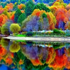 Goals, wishes and dreams & more inspiration www.vitamin-SUC & or on www.de The post Goals, wishes and dreams & more inspiration on www.vitamin-suc & or on & autumn scenery appeared first on Trendy. Fall Pictures, Pretty Pictures, Cool Photos, Beautiful World, Beautiful Images, Simply Beautiful, Landscape Photography, Nature Photography, Reflection Photography