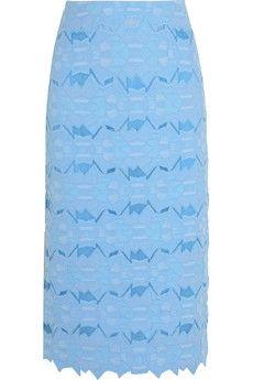 Jonathan Simkhai Cotton-blend brocade pencil skirt | NET-A-PORTER