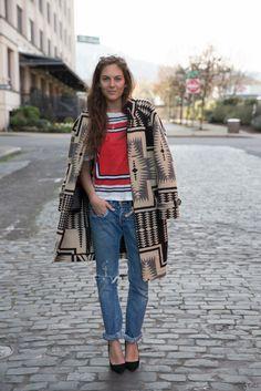 CarlyTati.com boyfriend jeans, bohemian fashion, fall coats, scavenger hunts, festival style, stylish clothes, street styles, bold colors, style fashion
