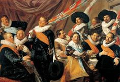 Frans Hals Museum is at home with the Golden Age. Visit us in Haarlem. Banquet of the Officers of the St George Civic Guard