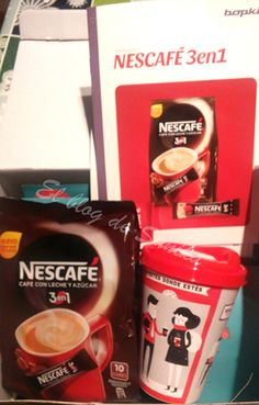 Tú y tu café en cualquier sitio: NESCAFE 3en1