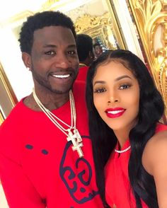 Gucci Mane and Keyshia Kaoir - How Our Favorite Celebrity Couples Showed Love On Valentine's Day
