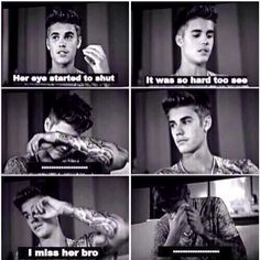 i cried my eyes out when he talked about avalanna when she died. Im starting to cry now Justin Bieber Quotes, Justin Bieber Facts, All About Justin Bieber, Love You So Much, I Love Him, Love Of My Life, In This World, My Love, Bae