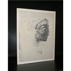 Thomas Gibson Fine art # PABLO PICASSO #  Picasso works on paper, 1982, nm