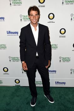 Rafa at Us OPEN Tennis party