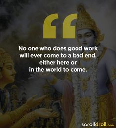 Hindu Quotes, Krishna Quotes, Spiritual Quotes, Best Positive Quotes, Good Thoughts Quotes, Inspirational Quotes, Karma Quotes, Words Quotes, Life Quotes