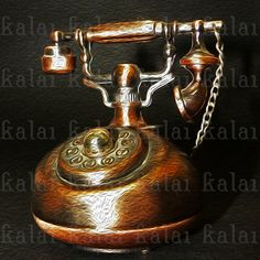Instant Download Vintage Telephone Oil Paint Effect by KalaiStudio