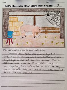 A School Called Home: Being Creative with Charlotte's Web - A FREE activity for Charlotte's Web!