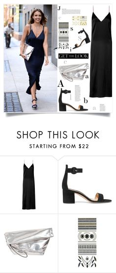 """Get the look - Slip dress in daylight"" by sofirose ❤ liked on Polyvore featuring rag & bone, Gianvito Rossi, Marni, Flash Tattoos, Anja, GetTheLook, daytime, jessicaalba and slipdress"