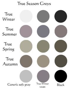 What Is Neutral Colors neutral colors for the autumn color season wardrobe palette. no