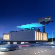 3711 NE Avenue by Touzet Studio in Miami 2nd Avenue, Studio, Modern Architecture, Design Projects, Miami, Interior Design, Shops, Nest Design, Tents