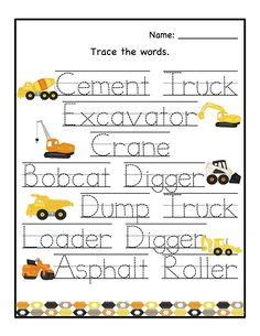 Hottest Images preschool printables construction Ideas Do you often ponder ways to find the money for all of it? Whether you choose Montessori schooling as well as a more tra Preschool Printables, Kindergarten Worksheets, Preschool Crafts, Kid Crafts, Range Rovers, Construction Theme Preschool, Transportation Unit, Pre School, Clipart