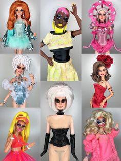 Drag race dolls