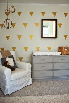 Love of Interiors gender neutral nursery