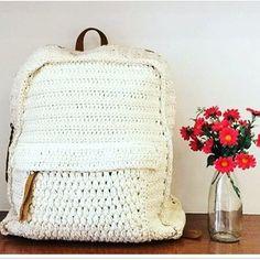 ❣🌹🎒 #mochila #crochet #verao17 #dressto #lojistas #showroom #lbrepresentacoes