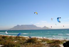 South Africa Kite Surfing - Information about Kite Surfing. The winds of the South African coast may drive seasoned beach-goers indoors, but they make . Activities In Cape Town, Big Waves, South Africa, Beach, Holiday, Photography, Travel, Kitesurfing, Happy Life