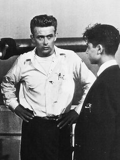 James Dean and Sal Mineo - James Dean Photo - Fanpop James Dean Photos, Rebel Without A Cause, Actor James, Best Actor, Actors & Actresses, Celebs, Live, People, Icons