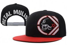 849393b72 2016 New Style Cap Snapback Metal Mulisha Skull Adjustable Baseball Hat  Rockstar