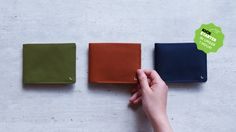 KIN is a beautiful everyday wallet that solves your everyday problem of keeping change.